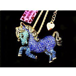 Betsey Johnson Horse Necklace 🆕🌿🆕🌿➰